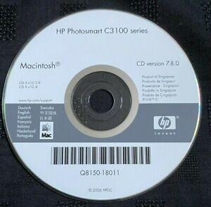 HP PHOTOSMART C3100 SERIES INSTALLATION DISK