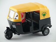 Indian Auto Rickshaw Toys Tuk Tuk Delhi Auto Transport Pull back Toy India