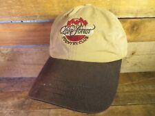 LAKE FOREST Country Club Adjustable Hat Adult Cap