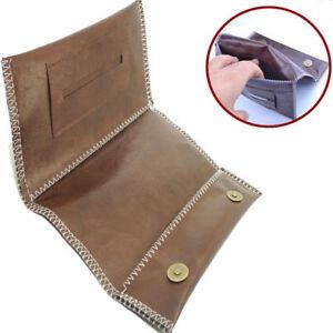 Cigarette Tobacco Pouch Leather Bag Case Holder Wallet Filter Rolling Paper Gift