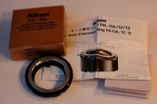 Nikon PK-11 Extension Tube PK 11 Boxed in Ext++ Cond.