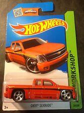 Hot Wheels Super CUSTOM Chevy Silverado with Real Riders
