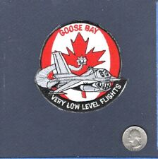 Goose Bay Canada F-16 FIGHTING FALCON USAF ANG Foreign Squadron Patch