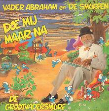"""VADER ABRAHAM & DE SMURFEN – Doe Mij Maar Na (1990 VINYL SINGLE 7"""")"""