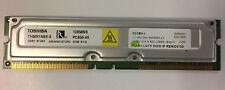 Toshiba 128 MB THMR1E8E-8 184p PC800-45 RDRAM RIMM
