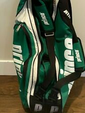 PRINCE Pro Tour Tennis Racquet Gear Bag Case. Holds 6 Racquets and Gear.