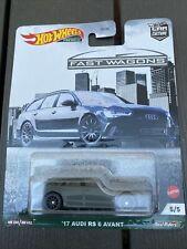 Hot Wheels 17 Audi RS 7 Avant 1:64 Car Culture 2021 Fast Wagons 5/5 Premium