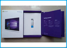 Genuine Scellé Coffret Microsoft Windows 10 Pro Professional Retail | USB 32/64Bit