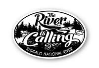 River is Calling Buffalo National River Sticker