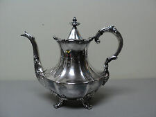 "NICE REED & BARTON VINTAGE SILVER PLATE ""VICTORIAN"" PATTERN COFFEE POT"