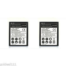 2x New 2300 mAh 3.7V Battery For Samsung Galaxy S3 III i9300