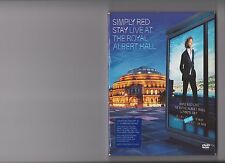 SIMPLY RED STAY LIVE AT THE ROYAL ALBERT HALL DVD CONCERT MUSIC
