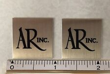 Small AR Acoustic Research speaker badge logo emblem