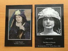 Aleister Crowley Rites of Eleusis 1990 Booklet, Leaflets, Cards & Tickets