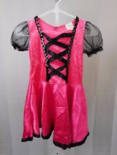 Pink Witch Girl's Halloween Costume Dress Only 8-10 Medium #5337