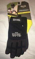 New Verge Youth Batting Gloves Black Small