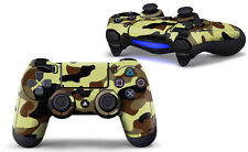 Sony PS4 Playstation 4 Controller Skin Screen Protector Set (2 Pcs) - Camouflage