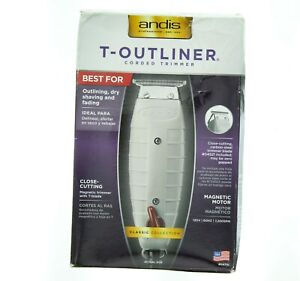 Andis T-Outliner Hair/Beard Trimmer Grey Professional Single Speed 04710
