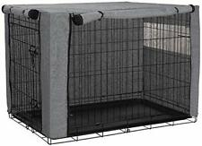 chengsan Dog Crate Cover, Durable Windproof Pet Kennel Cover (for 36 Inch Crate)