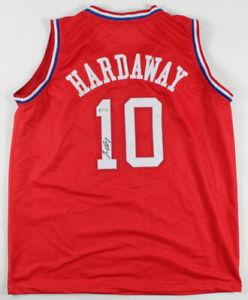 Tim Hardaway Sr Signed 1998 NBA All Star Jersey (PSA COA) Miami Heat  P.G
