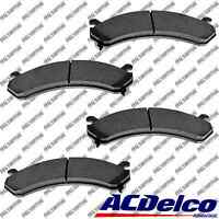 New Disc Brake Pad-Ceramic Set Front ACDelco Advantage 14D784CH heavy duty