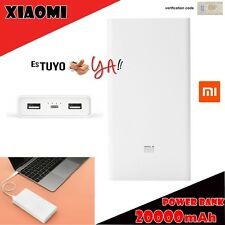 Xiaomi Power Bank bateria externa 20000 mAh original