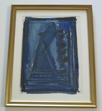 GREG LAUREN PAINTING BLUE NUDE ABSTRACT EXPRESSIONISM MODERNISM contemporary