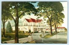 SHELBYVILLE, KY ~ Blackwood Hall COLONEL SANDERS Kentucky Fried Chicken Postcard