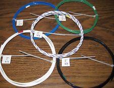14 AWG Silver PTFE teflon (R) Wire Assortment 25 feet 19 strand
