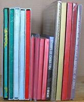 s1582) China Year Book Jahrbuch 1987 - 1999 kpl ** CTO 15 Jahrbücher OVP/Schuber