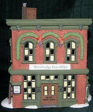 Woodbridge Post Office #56572 Retired New England Village Dept 56