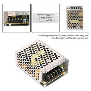 5A 12V Alimentation à interrupteur régulé Convertisseur de tension AC/DC Durable