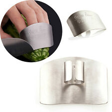 Kitchen Cutting Hand Protect Finger Stainless Steel Hand Protector Slice Shield