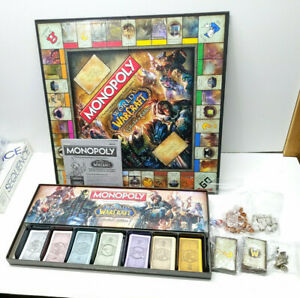MONOPOLY World of Warcraft Collector's Edition 100% Complete