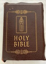 VINTAGE ~ THE MARIAN BIBLE, THE FAMILY ROSARY EDITION OF THE HOLY BIBLE 1954