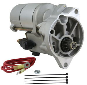 HIGH TORQUE GEAR REDUCTION STARTER FIT FORD GALAXIE L6 65-72 V8 63-74 C9ZF11001A