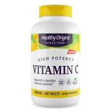 Healthy Origins - Vitamina C 1,000mg X 180 Tabletas