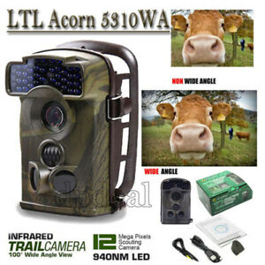 12MP Little Acorn Ltl-5310WA IR Game Scouting Hunting Trail Security Camera HOT