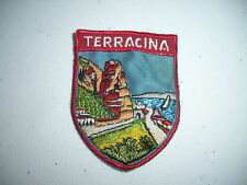 Terracina Italy Patch Badge Hiking Backpacking Europe 80's?