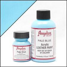 Angelus Acrylic Leather Paint Pale Blue 1 oz Bottle Colour f Shoes/Sneakers/Case