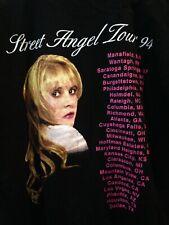 Stevie Nicks Street Angel Tour Shirt 1994 Xl Black T-Shirt Authentic Fleetwood