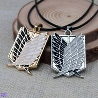 Attack On Titan Anime Metal Necklace Cosplay UK Stock