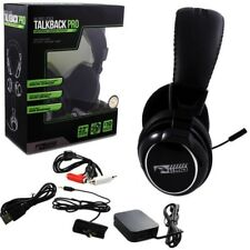 Xbox 360 PS3 PC MAC Universal Wireless Talkback Pro Gaming Headset New