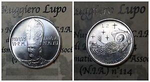 Citta' del Vaticano / Vatican Paolo VI 2 Lire 1969  fdc/unc