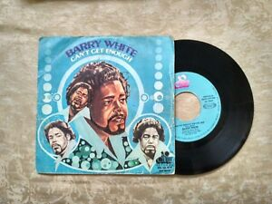 "VINILO SINGLE "" BARRY WHITE "" CAN´T GET ENOUGH OF YOUR LOVE, BABE"