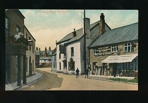 Devon BAMPTON Fore St Butler Ironmonger & Cycle Hire PPC by Valentine