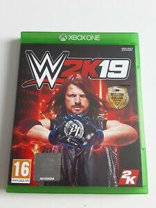 WWE 2K19 Xbox One **FREE UK POSTAGE**