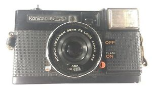 Konica C35 EF-P 35mm Film Camera - Priced To Sell - FREE SHIP!
