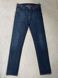 Armani J45 Regular Fit Jeans W30 L34 (D114)