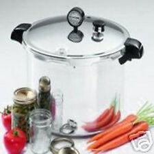 NEW PRESTO 01755 ALUMINUM PRESSURE CANNER COOKER 16 QUART HOLDS 7 QUART JARS
